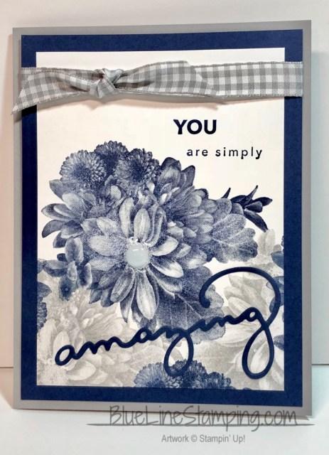 Stampin' Up!, Amazing You, Heartfelt Blooms, Jackie Beers