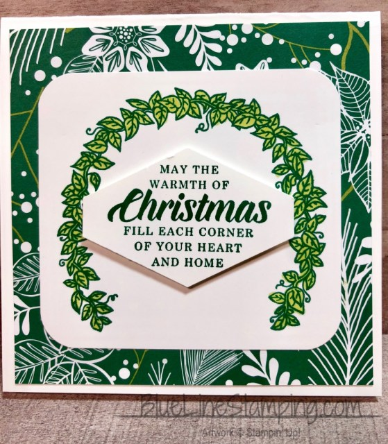 Stampin' Up!, Timeless Tidings, Many Blessings, Jackie Beers