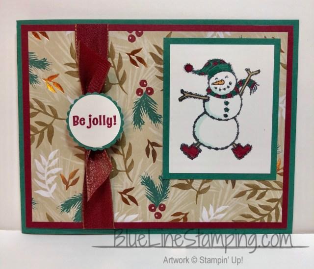 Stampin' Up!, Spirited Snowmen, Candy Cane Season, Jackie Beers