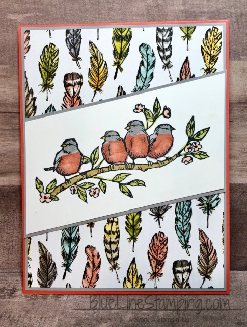 Stampin' Up!, Free As A Bird, Bird Ballad, Jackie Beers