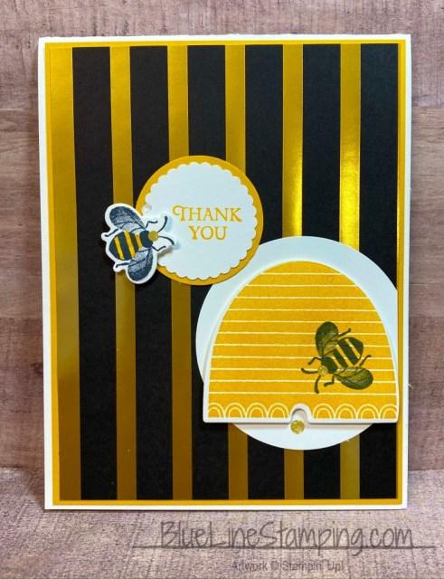 Stampin' Up!, Bee Thankful, Golden Honey, Jackie Beers