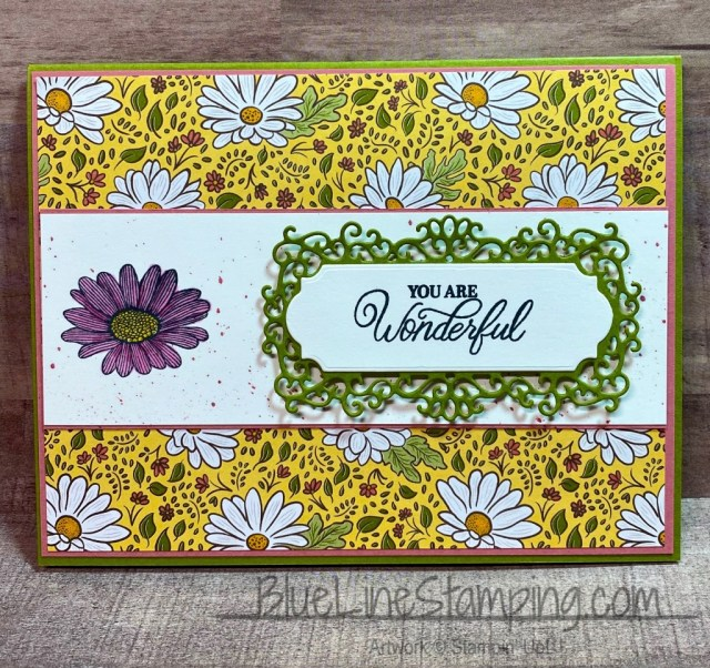 Stampin' Up!, Ornate Garden, Ornate Frames, Perfectly Framed, Daisy Lane, Jackie Beers