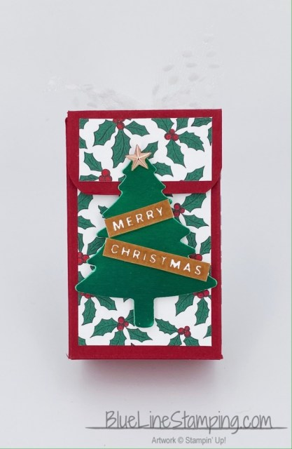 Stampin' Up!, Pine Tree Punch, Green Foil, Tis The Season DSP, Peace & Joy, Jackie Beers