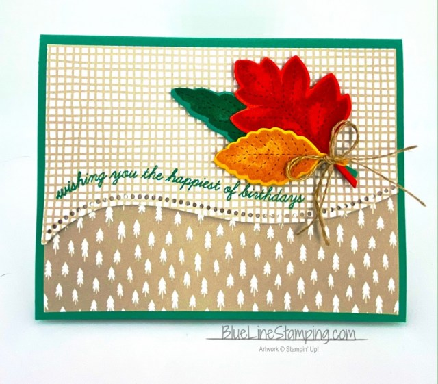Stampin' Up!, Quite Curvy, Love of Leaves, Classic Christmas, Jackie Beers