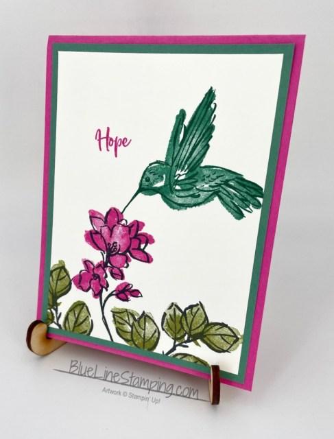 #simplestamping, hummingbird, stampin' up!, Jackie beers