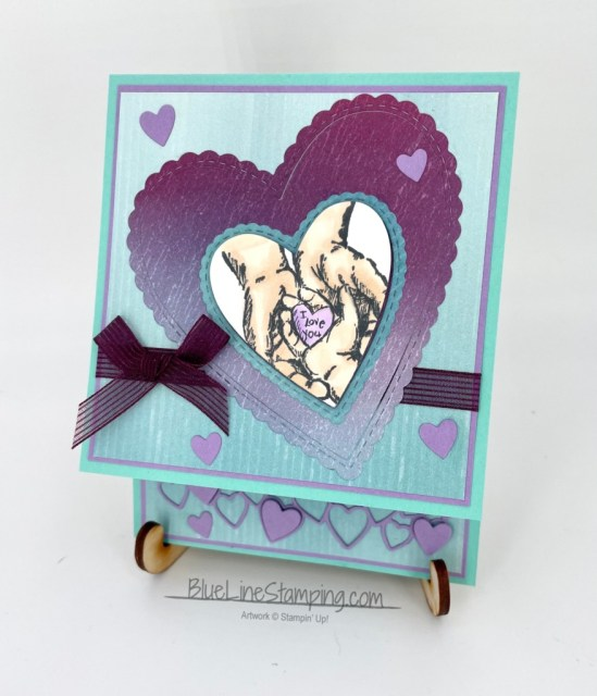 Stampin' Up!, Treasures of life, artistry blooms, stitched be mine, Jackie Beers