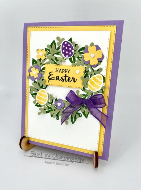 Stampin' Up!, arrange a wreath, stitched rectangles, jackie beers