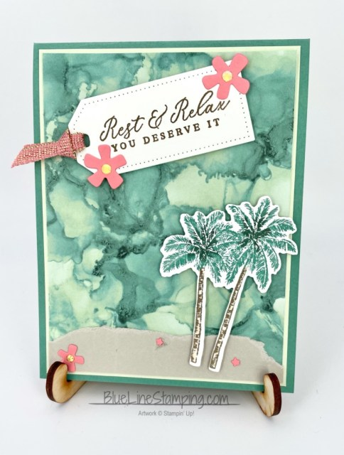 Stampin' Up!, Timeless Tropical, Expressions In Ink, Jackie Beers