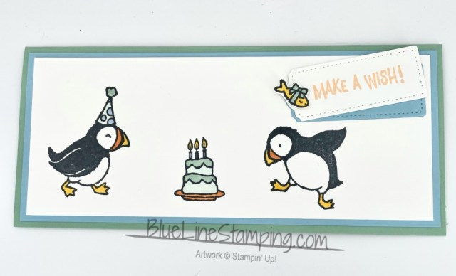 Stampin' Up!, Party Puffins, Tailor Made Tags, Jackie Beers