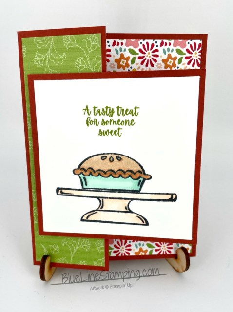 Stampin' Up!, Sweets & Treats, Pattern Party, Jackie Beers