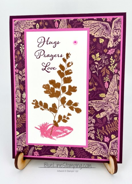 Stampin' Up!, Blackberry Beauty, Positive Thoughts, Jackie Beers