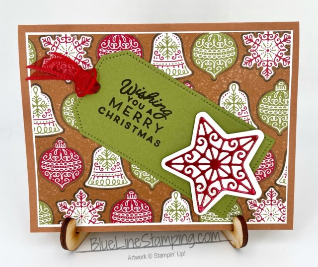 Stampin' Up!, Frosted Gingerbread, Gingerbread and Peppermint, Tailor Made Tags, Jackie Beers