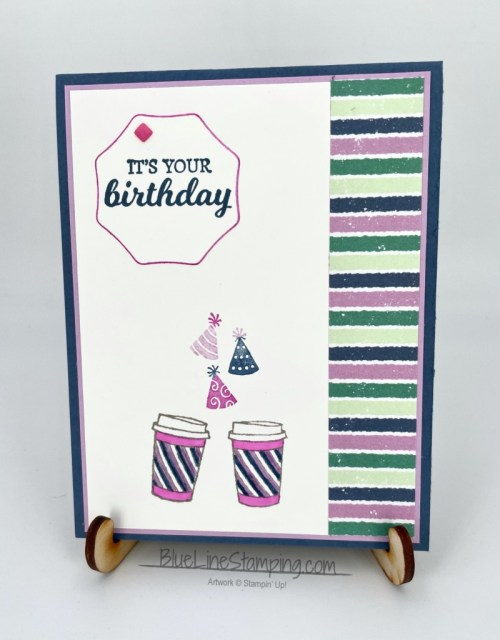 Stampin' Up!, Brew Some Fun, Warm Wraps, Penguin Playmates, Jackie Beers