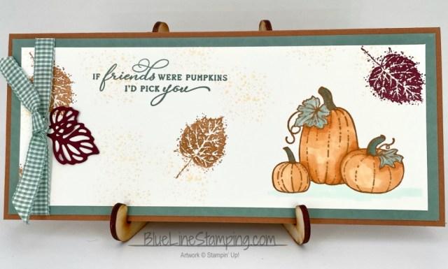 Stampin' Up!, Gorgeous Leaves, Pretty Pumpkins, Jackie Beers