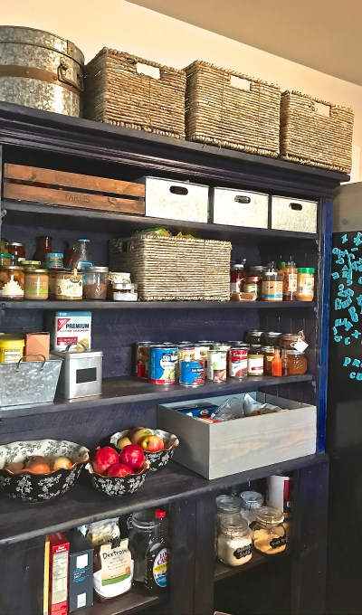 A New to Me Kitchen Cabinet!- a Thrifted Makeover