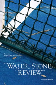 Water~Stone Review Volume 17. Cover photo by Lydo Elyse Le