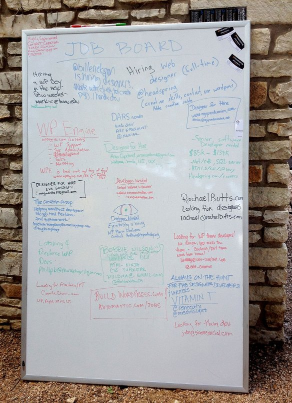 WordCamp Austin's Job Board