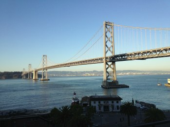 View from the Google San Francisco cafeteria