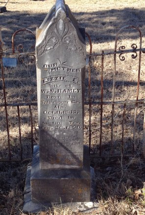 headstone for ramey