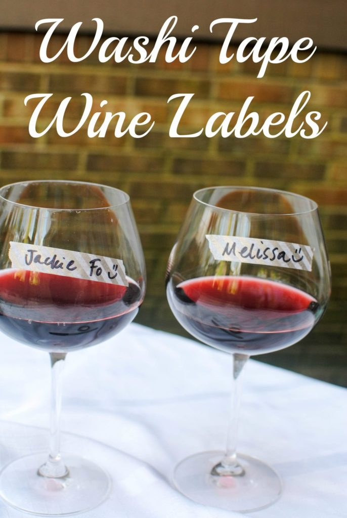 wine labels with text