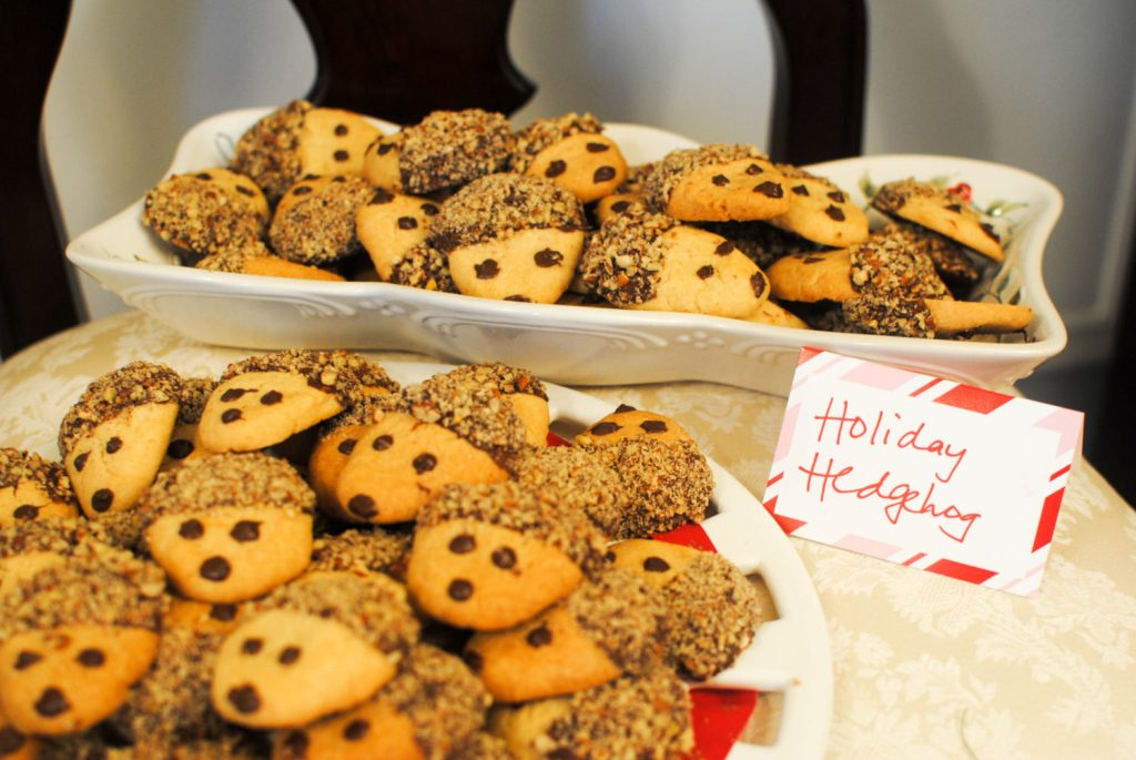 CookieParty Holiday Hedgehog