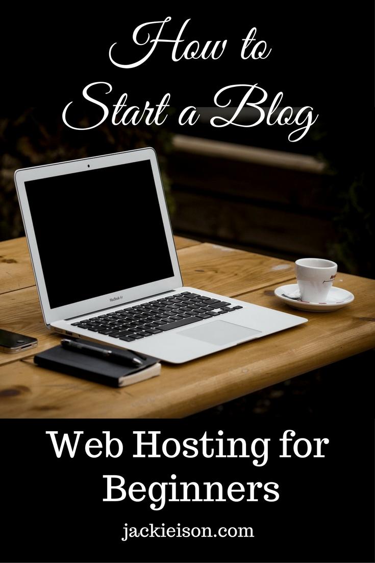 start blog web hosting