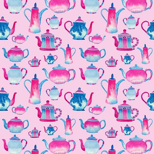Oven Glove Pattern Pink