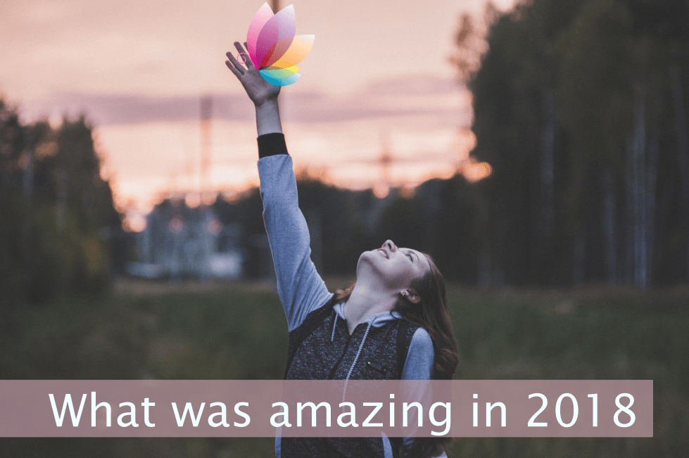 Celebrate what you did in 2018 rather than criticize what you did not do