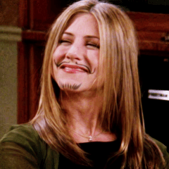 I wanted to be Rachel Green before I even knew who she was…