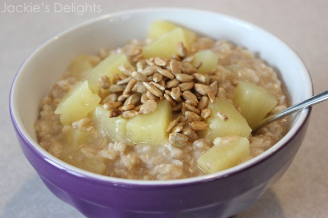 Sunny pineapple oatmeal.2