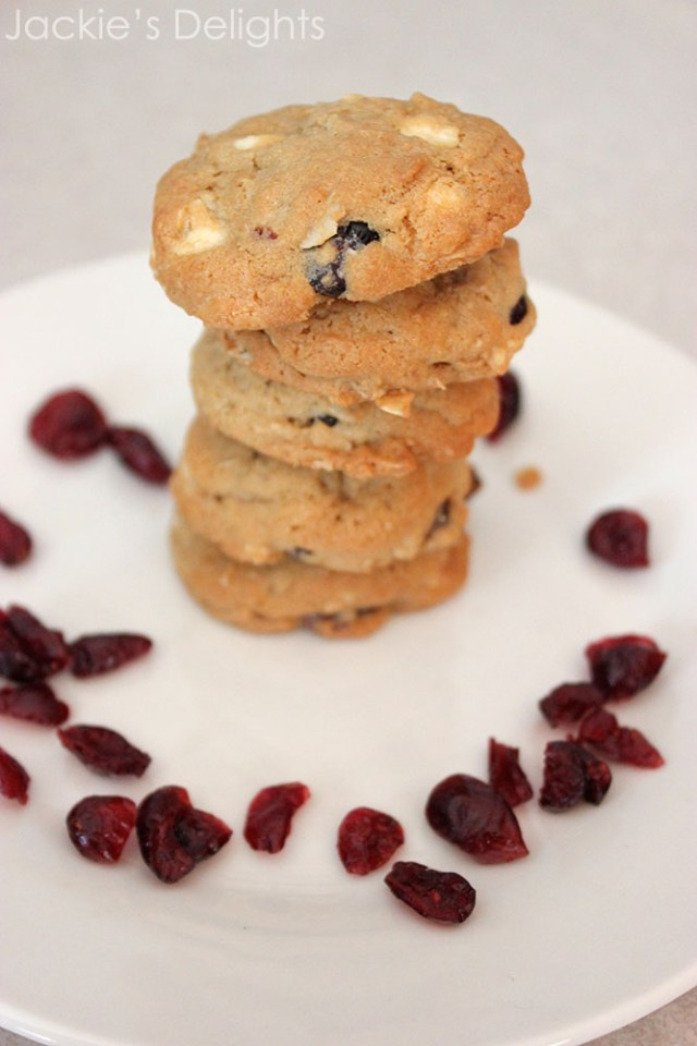 white chocolate cranberry cookies.2