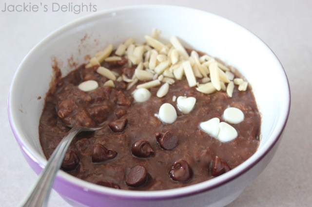 chocolate banana oatmeal.4
