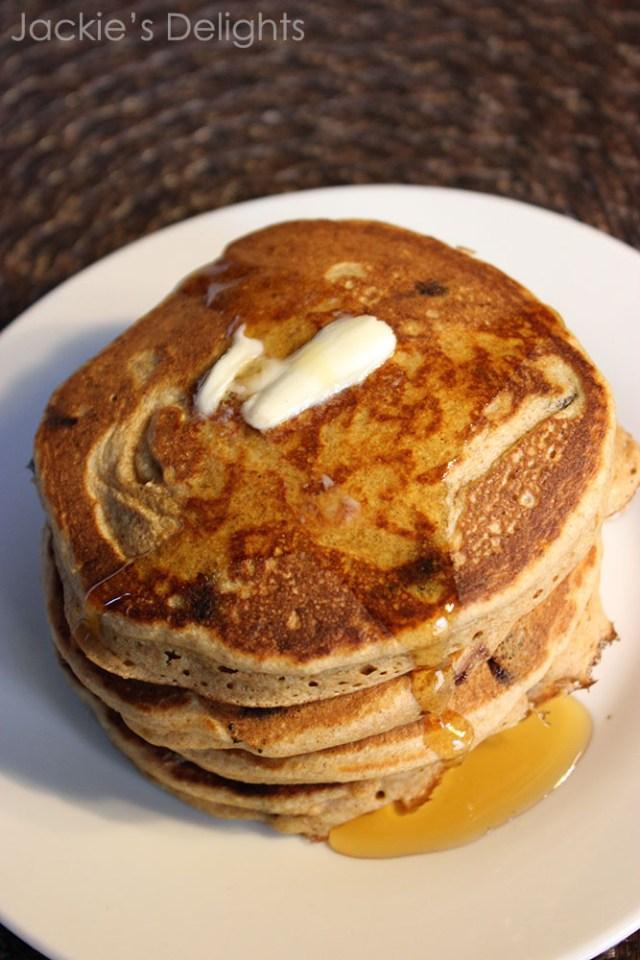 Chocolate chip pancakes.1