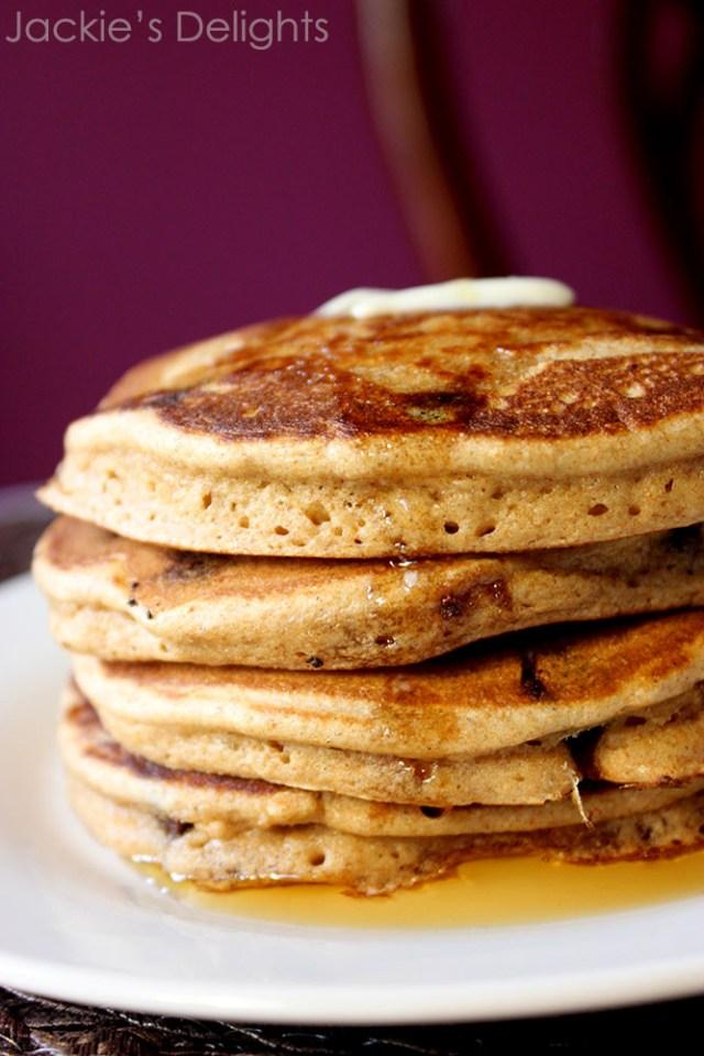 Chocolate chip pancakes.2