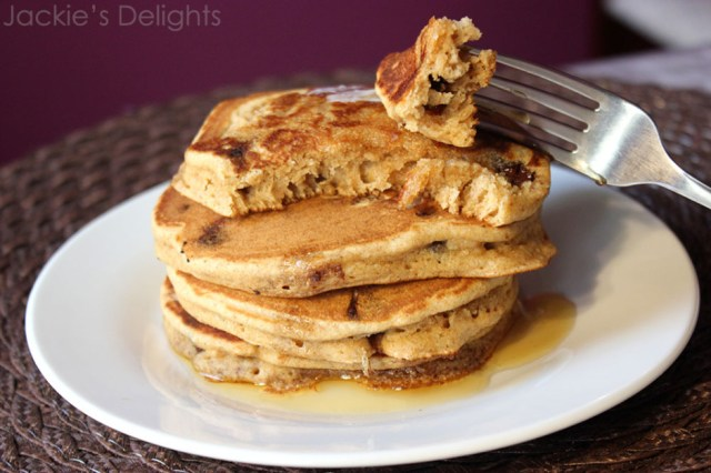 Chocolate chip pancakes.7
