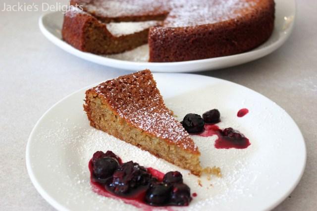 Almond Honey Cake.2