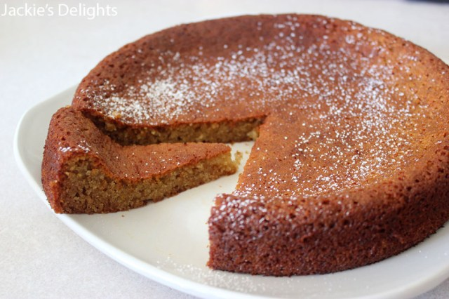 Almond Honey Cake.3