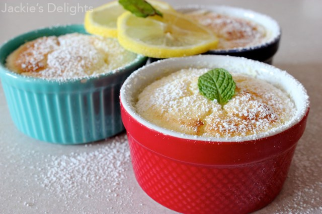 lemon pudding cakes.4