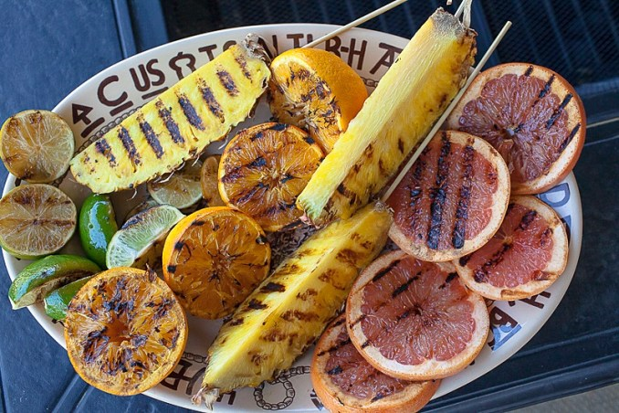grilling fruit for cocktail-65