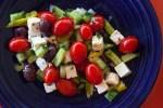 greek country salad recipe photo