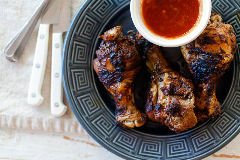 Southwestern style grilled chicken by Jackie Alpers