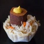 New York Style Hot Dog bites with Kraut Jackie Alpers