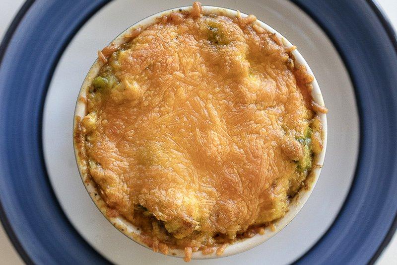 Gooey, Creamy, Cheesy Chicken and Broccoli Casserole