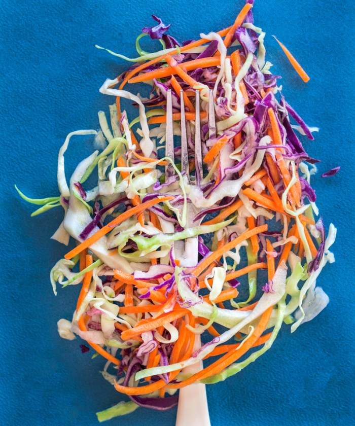 Spicy Thai Mexican coleslaw