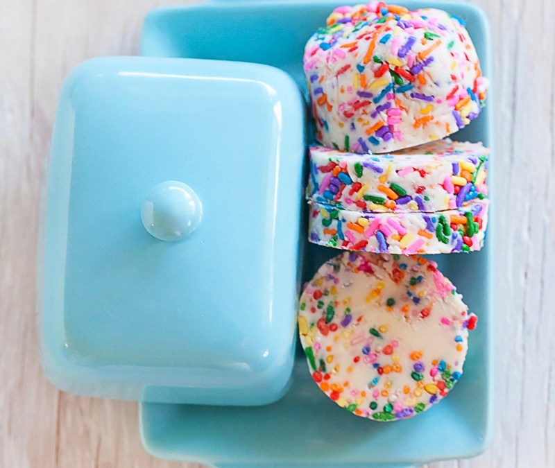 Rainbow Sprinkles Compound Butter