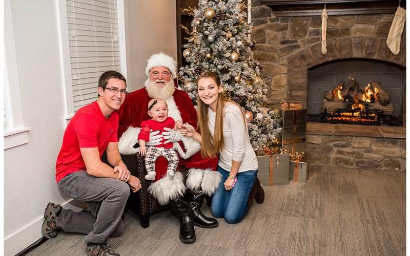 The Siggard's and Santa | Logan Utah Photographer
