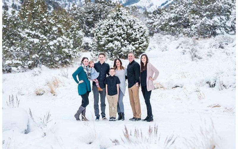Green Canyon | Winter | Logan Utah Photographer
