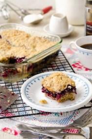 Mixed Berry Coffeecake
