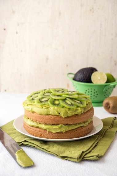 Vanilla Kiwi Frosting Greens 24/7 Vegan Recipes