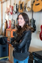 Portrait of Kelly McDonald for piece on Women in the Music Industry